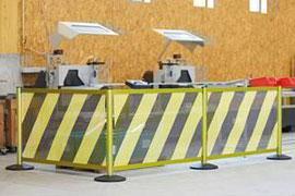 NeXtrac Safety - avskärmningssystem