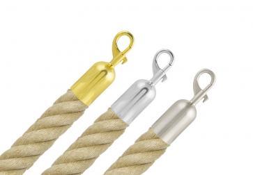 Jute touw met sluiting