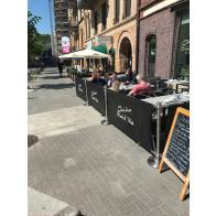 Caféafzetting -26 meter- (Complete set)