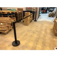 FlexiBarrier Afzetpaal -Basic 550- (4.9m band)