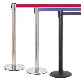 FlexiBarrier Afzetpaal -Pro 250- (3.4m band)